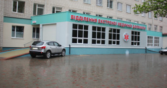 Приймальне відділення Ратнівської лікарні