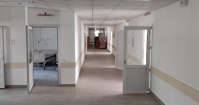 Приймальне відділення Сарненської лікарні