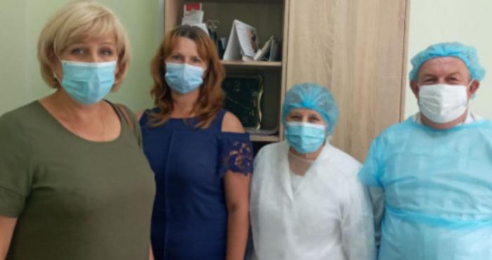 Інспектують центри масової вакцинації на Волині