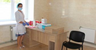 Центр вакцинації у Ковелі