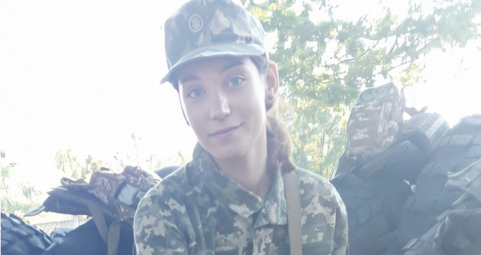 Військова-медик Вікторія Касій