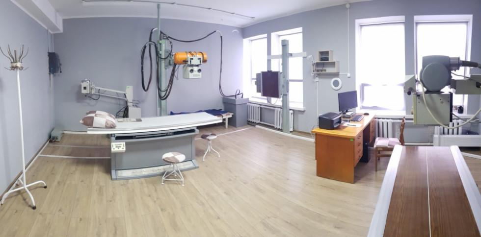 Рентген-кабінет після ремонту