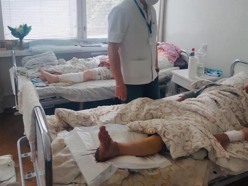 У Луцькій міській лікарні жінці пришили відрізану ногу