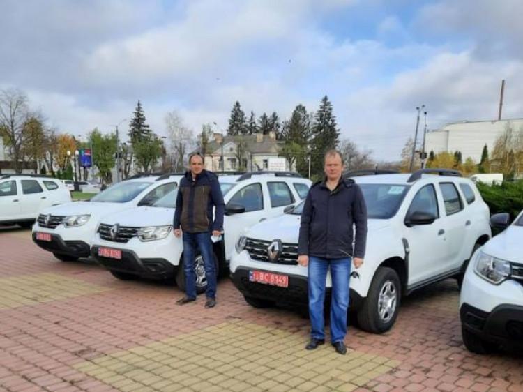 Нові автомобілі для сільських амбулаторій