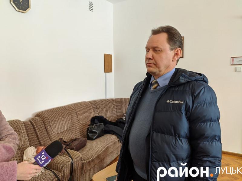 Олесь Марищук, директор Ківерцівського ПМД