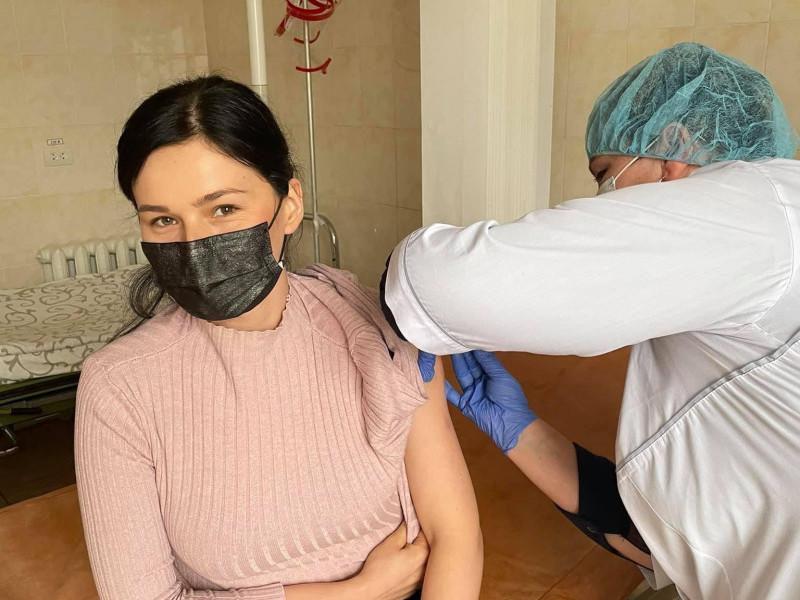 Вакцинація медиків Боремельської громади