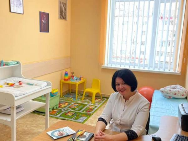 Дитячалікарка-неврологиняОксана Валеріївна Кужель