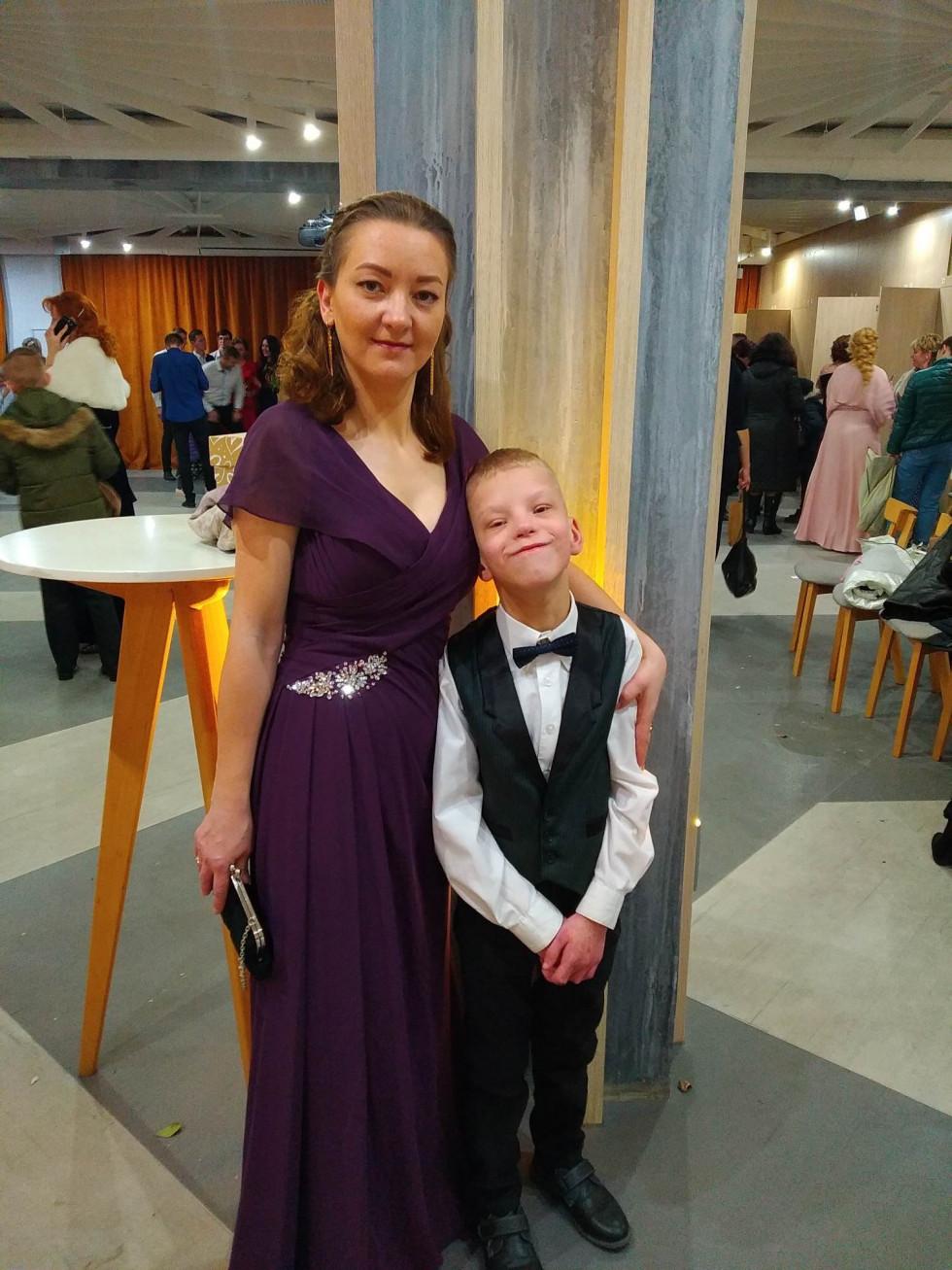 Мар'яна Мирончук із сином