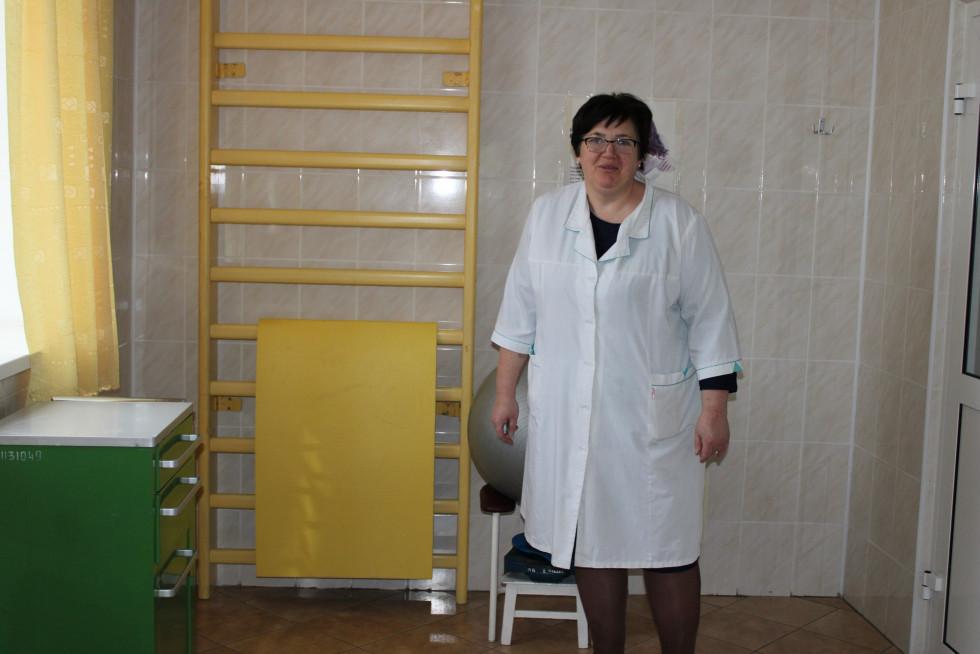 Завідувачка акушерсько-гінекологічним відділенням Світлана Дубій