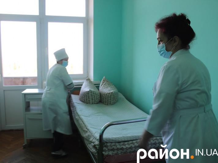 Лікарня готується до прийому пацієнтів