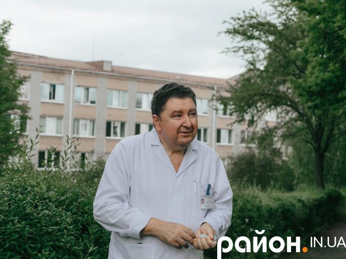 Головний лікар Горохівської ЦРЛ Валерій Коба