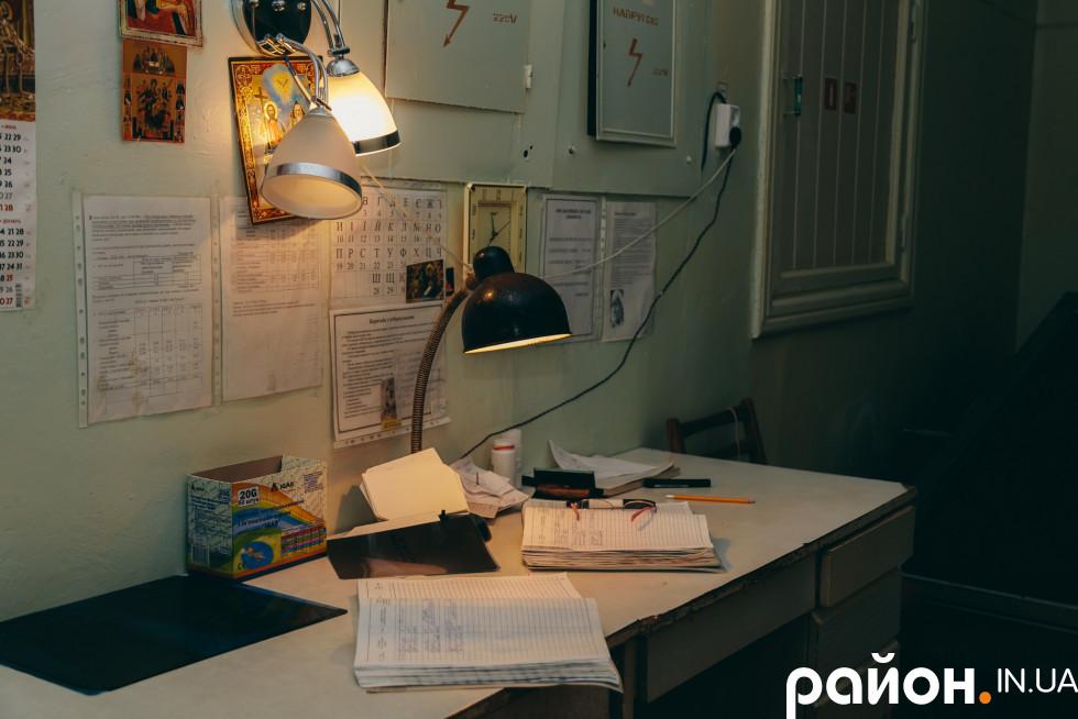 Робочий стіл лікаря-рентгенолога