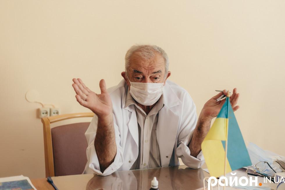 Головний лікар Берестечківської районної лікарні № 2 Павло Звонар