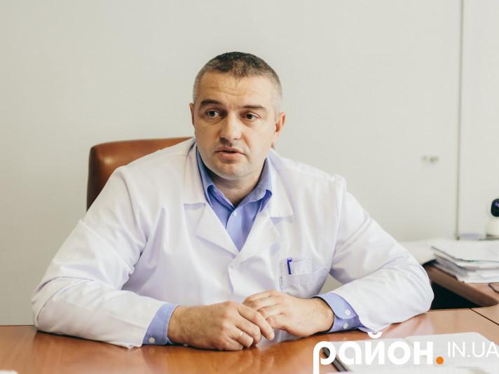 Головний лікар Маневицької ЦРЛ Олег Бегаль