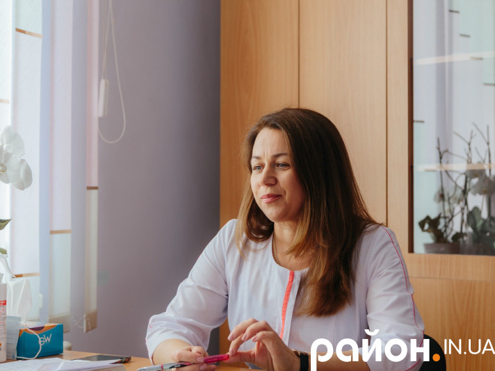 Завідувачка Ветлівської амбулаторії Іванна Костюк